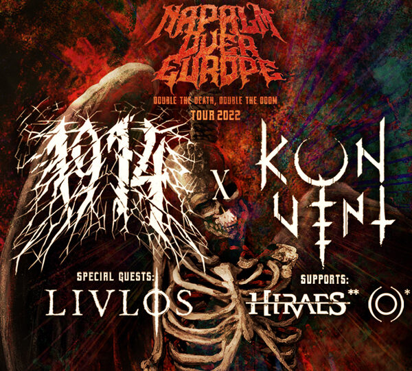 Napalm Over Europe: Double The Death/Double The Doom Tour 2022
